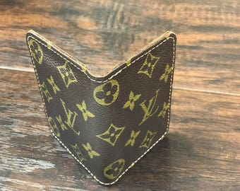 LV Upcycled, Reworked, Authentic bags used ONLY. Louis Vuitton Front Pocket Wallet , Louis Vuitton, Wallet