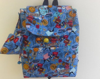 Children's bag for small pirates