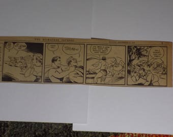 ORIGINAL SUPERMAN Daily Comic Strip - The Milwaukee Journal - Monday, September 25, 1939 - 25% Off!