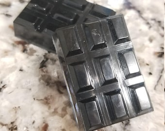 Resin black transparent chocolate