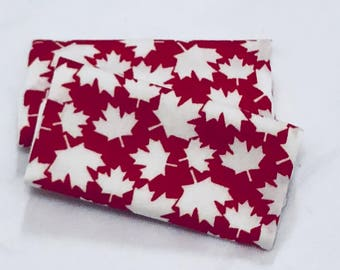 Red Maple Leaf Luggage Identifiers