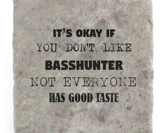 It's OK if you don't like Basshunter Marble Tile Coaster