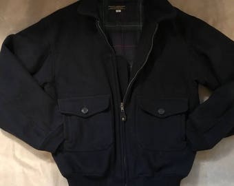 Vintage Boy's Brooks Brothers Bomber Jacket