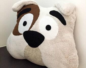 BULLDOG Dog Cushion