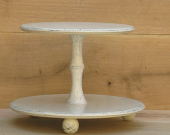 how tall should a wedding cake stand be large 23 inch pine rustic cake stand cupcake 15563