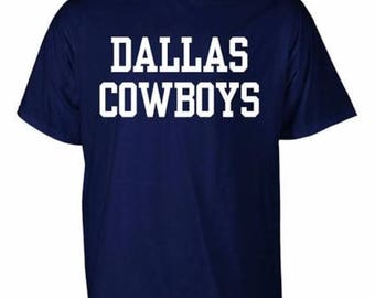 Dallas Cowboys Navy Coaches T-shirt SM
