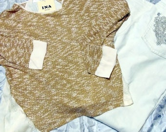 Large 3/4 Sleeve Boutique Top NWT