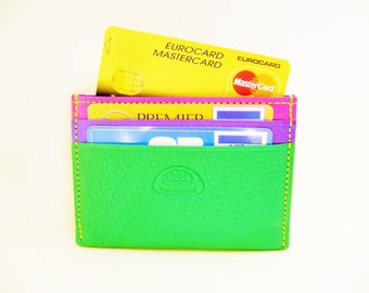 colorful credit card holder