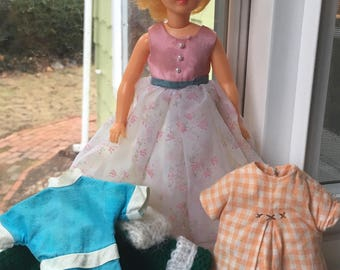 1964 Ideal Pepper Doll plus Tammy Clothes