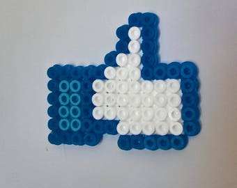 Magnet Facebook fuse beads