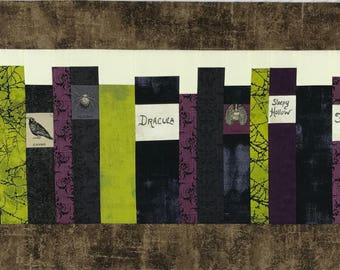 Immortal Authors (table runner)