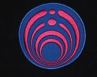 Bassnectar Patch Logo Symbol Jacket Sew-On Applique Vest Jacket Sew Merch BB Gift Bassdrop