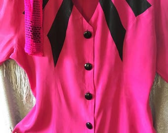 3Pc Corporate Winner/Hot Pink/Size S