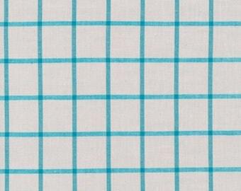 Fabric-Yarn Dye Plaid Broadcloth in Ash/Amazon - Cloud9 Fabrics
