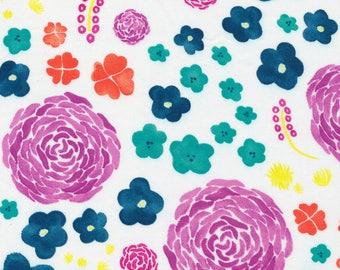 Fabric-Quilting Cotton-Bouquet (Floral) - Cloud9 Fabrics