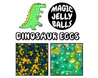 Dinosaur Eggs - Magic Jelly Balls - Growing Water Beads