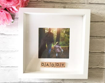 Gift for Dad | Fathers Day Gift | Dad Birthday Gift | Grandpa Gift | Boyfriend Gift | New Dad Gift | Dad Photo Frame | Father of the Bride