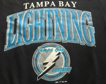 Vintage 90s Logo 7 Tampa Bay lighting sweatshirt NHL