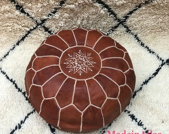Moroccan pouf, Moroccan ottoman, pouf marocain,Authentic Moroccan,handmade