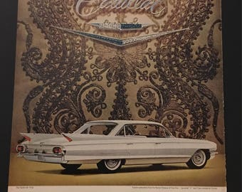 1961 Cadillac Sedan De Ville Turkish Embroidery Jeweled V Crest By Cartier
