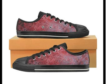 For the Love of Art Custom Designed Women's Canvas Sneakers