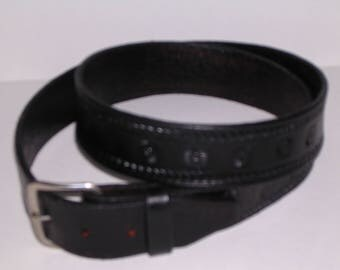 Ron Myers Geometric Belt  0543