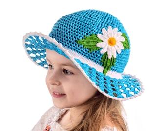Crochet Girls Hat Girls Beanie Hats For Girls Baby Girl Hat Toddler Crochet Hat Girls Hat Girls Summer Hat Crochet Baby Hat Girl Sun hat