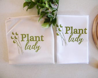 Plant lady apron and tea towel gift pack