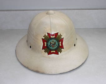 Veterans Of Foreign Wars Of The United States Word War II Pith Helmet
