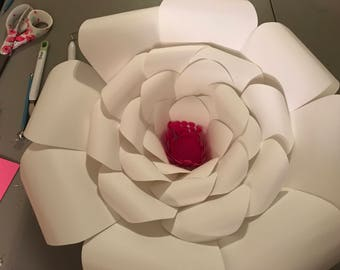 Giant Cardstock Flowers