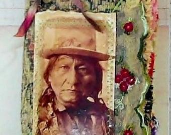 Handmade Western Themed Travelers Notebook Insert (Reserved for Foxandwolves)