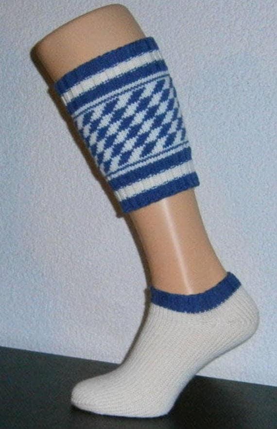 Bavarian calf socks Wadenwärmer