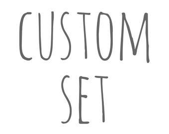 custom set - memory match