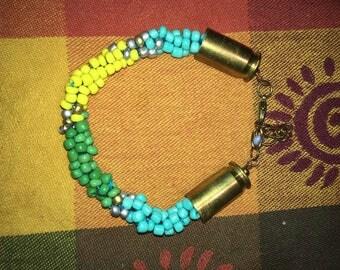 Bullet Jewelry Beaded braided bracelet