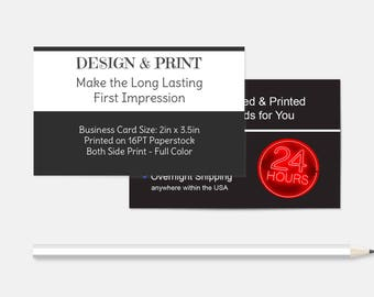 younique business cards etsy