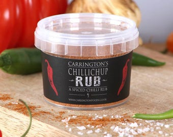 Chilli Spice Marinade Rub, BBQ, BBQ Grilling Rub, gift for him, gift for her, chilli lover gift,
