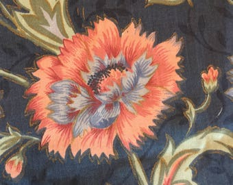 Vintage Upholstery Fabric/Remnant