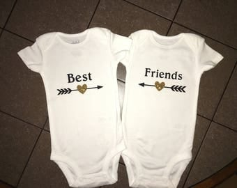 Best Friends Onesies or T-Shirts