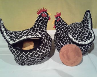 COUNTRY CHICKEN NOVELTY - Bread Basket/Bowl