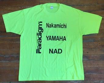 Vintage Popular Audio T Shirt