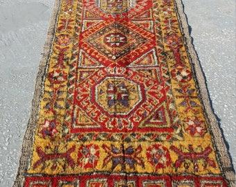 """Vintage Small Rug, Turkish Small Rug, Vintge Oushzk Zmal Rug, 1'9""""×3'3""""ft,Home Living,Area Rug, Small Carpet,  Rugs, Rug"""