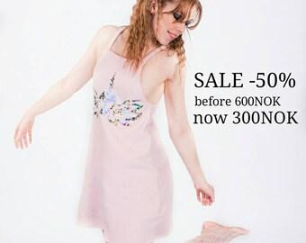 Pink Fleece Dress
