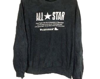 Off 10%!! Vintage Converse Chuck Taylor Sweatshirt