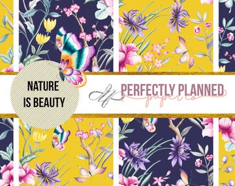 Nature is Beauty // Full Weekly Kit // Happy Planner Mini [M022]
