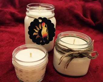 All Natural Soy Wax Candles