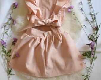Vintage Linen Pinny