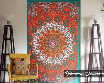 mandala tapestry etsy. Black Bedroom Furniture Sets. Home Design Ideas