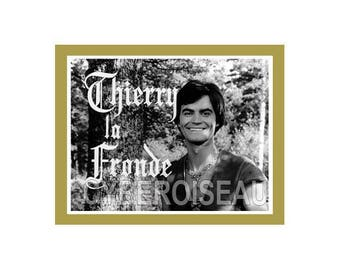 Magnet Thierry Slingshot 60s TV show