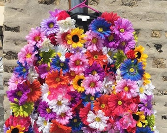 Flower Power Floral Bomber Jacket