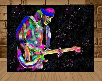 carlos santana poster,santana print,carlos santana art,carlos santana print,santana poster,rock poster,rock art,classic rock,home decor,art